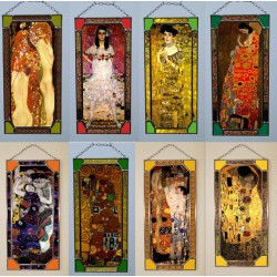 Gustav Klimt,Stained Glass (Price for all)
