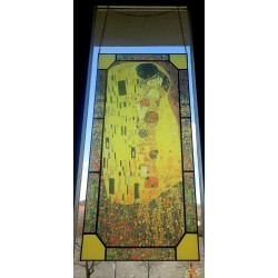 Gustav Klimt - The Kiss - Large