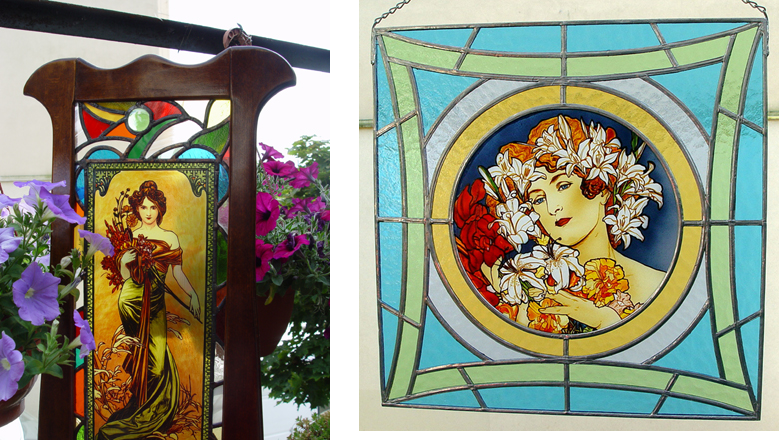 Stained Glass Alphonse Mucha