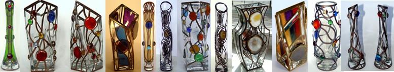 Abstraktní vázy